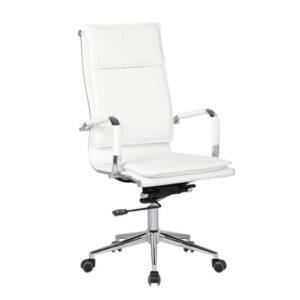 BF3600 Πολυθρόνα Γραφείου Διευθυντή / PU Άσπρο