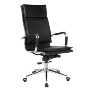 BF3600 Πολυθρόνα Γραφείου Διευθυντή / PU Μαύρο