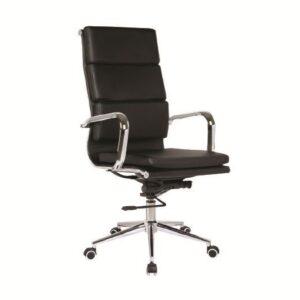 BF4800 Πολυθρόνα Γραφείου Διευθυντή / PU Μαύρο