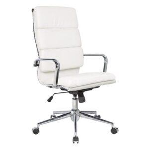 BF4800 Πολυθρόνα Γραφείου Διευθυντή / PU Άσπρο