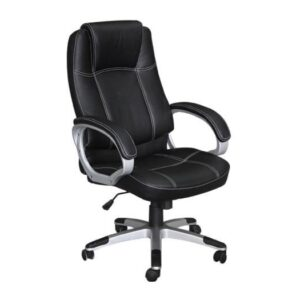 BF5450 Πολυθρόνα Γραφείου Διευθυντή / Pu Μαύρο