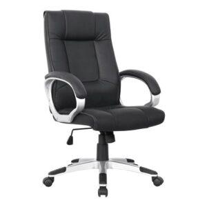 BF6900 Πολυθρόνα Διευθυντού PU Μαύρο