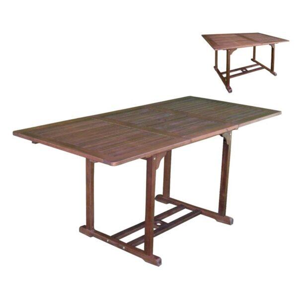 GARDEN τραπέζι επεκτ/νο Ξύλο Acacia