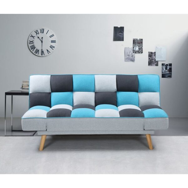 JAY Καναπές / Κρεβάτι Σαλονιού - Καθιστικού / Ύφασμα Patchwork