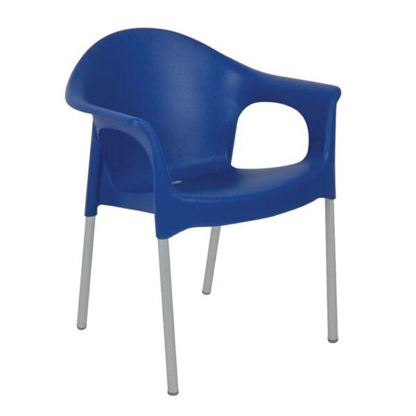 MARY πολυθρόνα PP-UV Μπλε