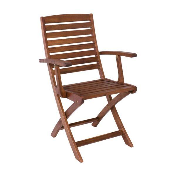 SPOT Πολυθρόνα Πτυσσόμενη Ξύλο Acacia