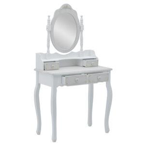 Μπουντουάρ Ξύλινο Με Καθρέπτη