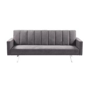 HIT  Καναπές / Κρεβάτι Σαλονιού - Καθιστικού / Ύφασμα Ανοιχτό Γκρι