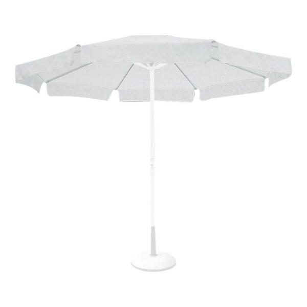 Πανί Ανταλλακτικό Άσπρο για Ομπρέλα Φ300cm ALU