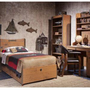 Παιδικό κρεβάτι με αποθηκευτικό χώρο KS-1705