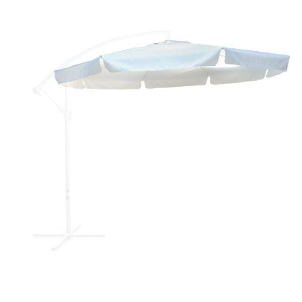 Πανί Ανταλλακτικό Άσπρο για Ομπρέλα HANGING Φ 300cm Alu
