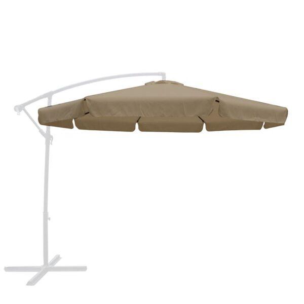 Πανί Ανταλλακτικό Μπεζ για Ομπρέλα HANGING Φ 300cm Alu