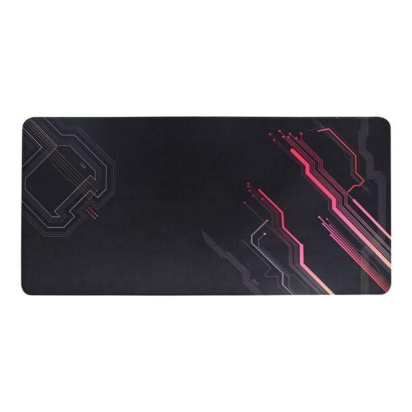 GAMING Mouse Pad 100x50cm Μαύρο/Κόκκινο