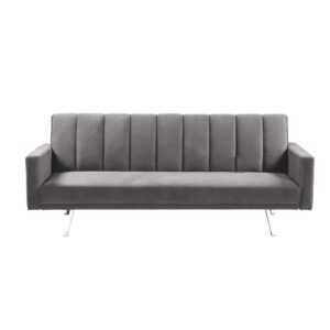 HIT  Καναπές - Κρεβάτι Σαλονιού Καθιστικού - Ύφασμα Ανοιχτό Γκρι