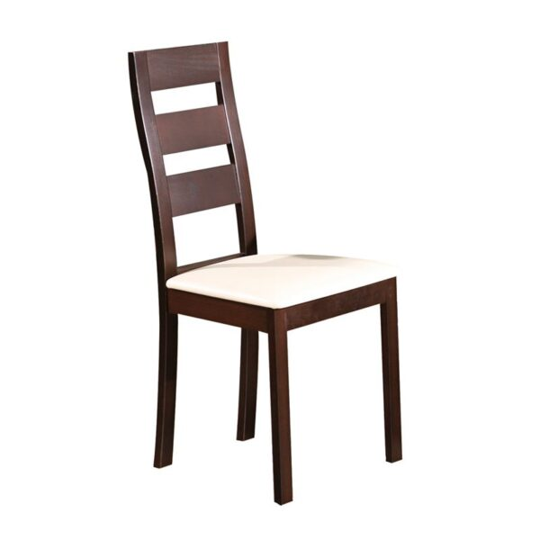 MILLER Καρέκλα Οξυά Σκούρο Καρυδί