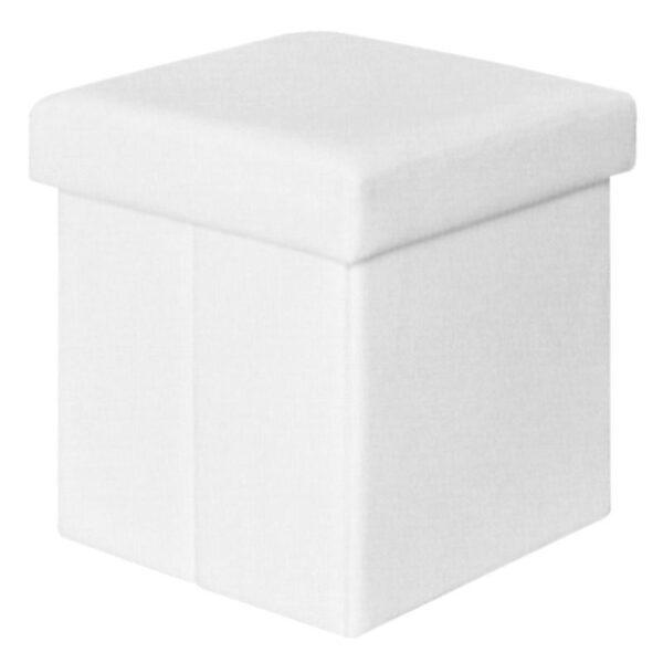ORION Σκαμπώ Αποθηκευτικό Βοηθητικό - PU Άσπρο
