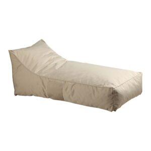 TACO Πουφ Ξαπλώστρα Ανάκλιντρο - 100% Αδιάβροχο Ύφασμα Sand