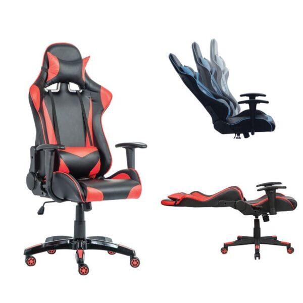 BF8050 Gaming Πολυθρόνα Διευθυντή Μαύρο Pu - Κόκκινο