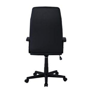 BF1250 Πολυθρόνα Γραφείου Διευθυντή, Pu Μαύρο