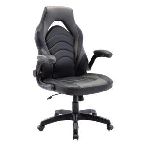 BF7800 Gaming Πολυθρόνα Pu Μαύρο - Γκρι